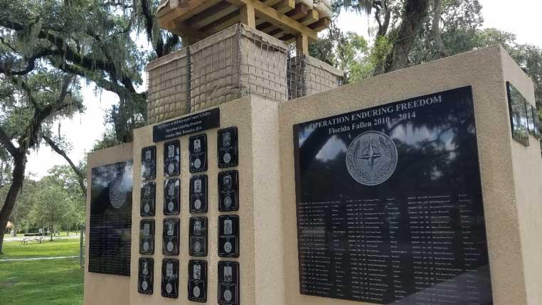 War in Afghanistan Memorial