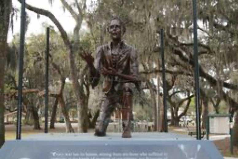 POW Statue
