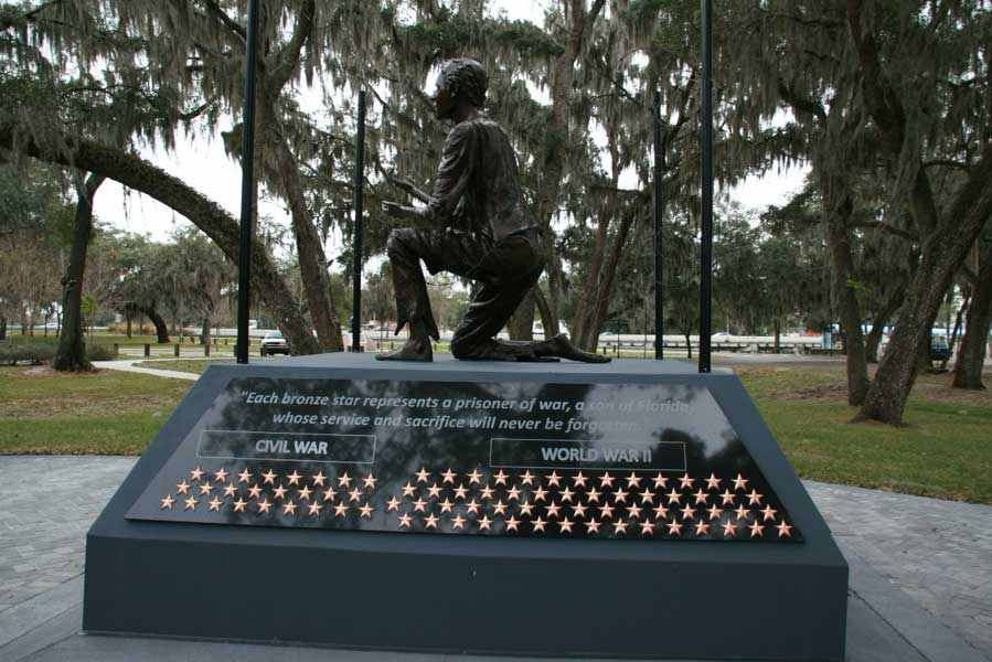 POW/MIA Memorial represents all American Prisoners of War and those still Missing in Action.