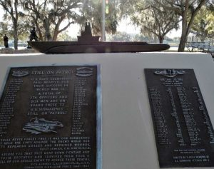 Submariners Memorial at the Veterans Memorial Park in Hillsborough County